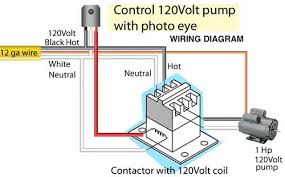 how to install and troubleshoot photo eye 3 pole contactor wiring diagram at Contactor Relay Wiring Diagram