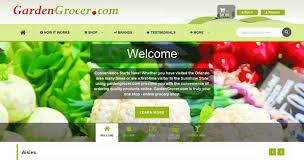 gardengrocer com screenshot