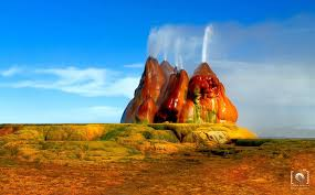 how do geysers form incredible fly geyser in nevada created purely by accident bored panda