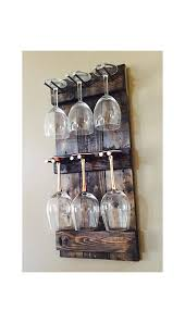 rustic wine glass holder rack with regard to display plan 4