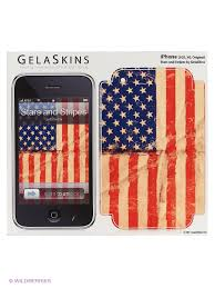 "<b>Наклейка</b> ""Stars and Stripes for 3G/3GS"" <b>Kawaii Factory</b> 3257549 в ..."
