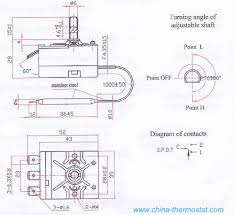 wy capillary thermostat for egg in tor drawing and size of wy capillary thermostat for egg in tor