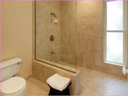 Doorless Shower Small Bathroom Doorless Shower Design Ideas For Inspiration  Decorating
