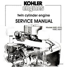 17 best images about toms pins repair shop detroit details about kohler k482 k532 k582 k662 twin cylinder service manual bonus 19 in 1 cd