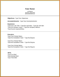 first resume examples 30 beautiful no experience resume examples
