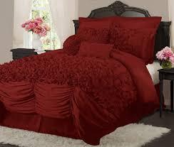 large large 1200x1016 pixels modern bedroom with red color bedding sets ornamental and crimson decorative comforter set white flower