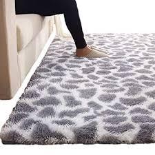 Amazon.com: Large Cozy Kids Play Mat - Grey & White Bedroom Floor ...