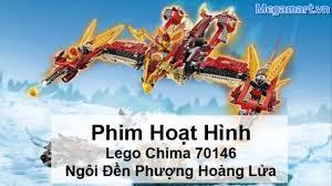 Vương Quốc Đồ Chơi 27 Nam Đồng - Phim hoạt hình Lego Chima 10298 Ngôi Đền  Phượng Hoàng Lửa
