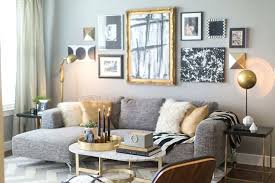 mixing gold and gray google search gallery wall living room couch decor teal grey black white and gold living room
