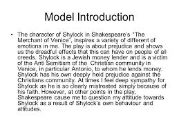 "merchant of venice"" essay plan character ppt video online  6 model introduction the character of shylock"