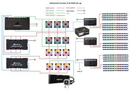 corsair link led strip problem the corsair user forums rgb wire diagram how do i get the complete strip working?
