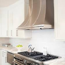 Stainless Steel French Kitchen Hood With Rivet Straps