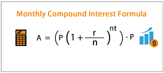 Monthly Compound Interest Formula Calculation With Examples