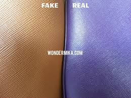 authentic fake prada saffiano leather close up