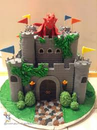 Medieval Castle Cake Designs