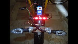 Sticker Light For Cycle How To Make Brake Stop Light For A Cycle
