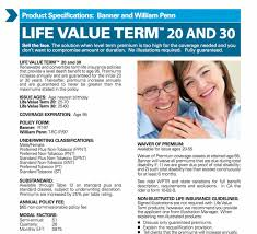 banner life insurance quote lovely the best plete review of banner life insurance