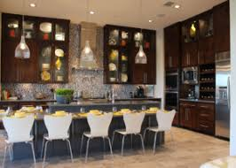 Contemporary Kitchen With Edgebanded Veneer Cabinet Doors In Select Alder  By TaylorCraft Cabinet Door Company
