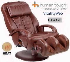 massage chair ebay. new stretching human touch home massage chair / recliner + heat ebay