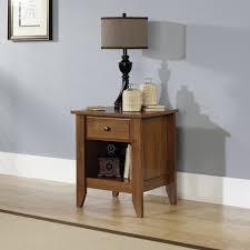 Sauder Bedroom Furniture Sauder Shoal Creek Oiled Oak Night Stand 410412