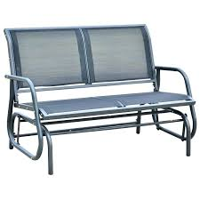 patio glider bench awesome patio glider chair and recycled plastic glider bench patio glider