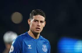 James Rodriguez gibt zu, dass er nicht weiß, gegen wen Everton dieses  Wochenende spielt