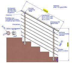 Pfostenträger für sichtzaun einbetonieren und montieren. Handlaufe Gelander Aus Edelstahl Made In Germanyedelstahl Gelander Treppenaufgang Made In Germany