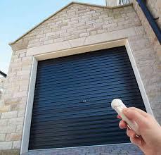 gliderol single skin roller garage door electric opening