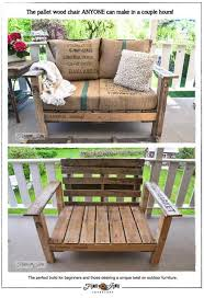 pallet patio furniture decor. DIY Porch And Patio Ideas - How To Build A Pallet Wood Chair Decor Projects Furniture O