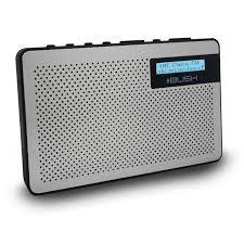 breakfast digital radio silver