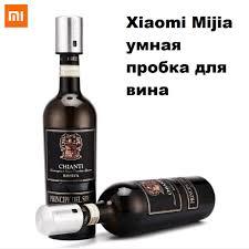 <b>Xiaomi</b> Mijia умная <b>пробка</b> для вина из нержавеющей стали ...