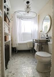 vintage bathrooms designs. Soft Pastels And Timeless Neutrals Fill This Small Vintage Bathroom With Beauty. Its Incredible Clawfoot Bathrooms Designs