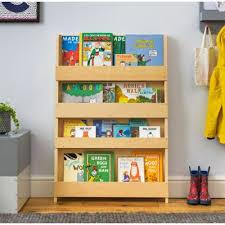 kids bookshelf natural