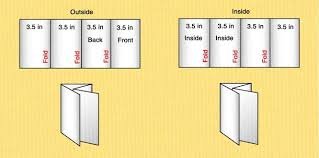 Quad Fold Brochure Template Word Four Fold Brochure Template Word 4 Fold Brochure Template