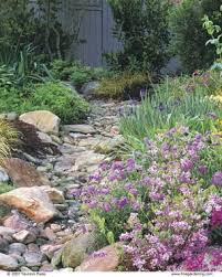 Small Picture Dry Stream Does Double Duty Fine Gardening