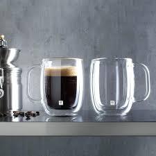clear coffee plus double wall coffee mug set of 2 clear clear coffee mugs clear clear coffee clear coffee table