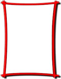 Red Photo Frames Bold Frame Red Page_frames Simple_ornamental Bold_frame