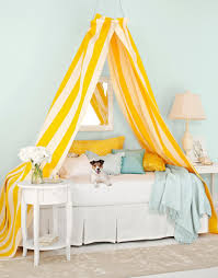 Get Striped: All Kinds of Stripes Inspiration | Canopy, Bedrooms and ...