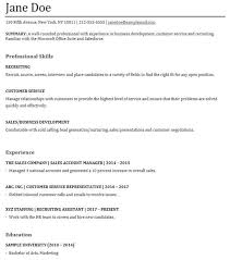 Functional Resume Functional Resume Example With Resume Cover Letter