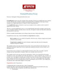 Exemplification Essay Austin Peay State University