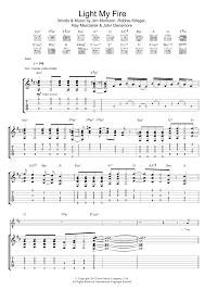 Light My Fire Sheet Music Light My Fire By Jose Feliciano Guitar Chords Lyrics Digital Sheet Music