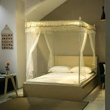 Queen Bed Canopy Bedroom Sets For Sale Size Set White Black Marble ...