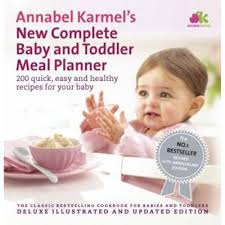 Annabel Karmels New Complete Baby Toddler Meal Planner By Annabel Karmel Pregnancy Books At The Works