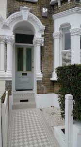 front garden ideas victorian home. grey and white classic victorian mosaic tile path battersea london · front doorsvictorian homes garden ideas home