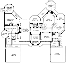 castle house plans. King Of The Castle - 67094GL Floor Plan Main Level House Plans T