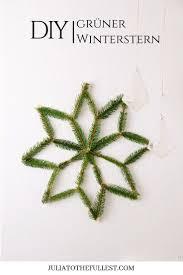 Diy Grüner Winterstern Mit Vorlage Weihnachten Spaß