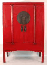red lacquered furniture. Antique Asian Furniture: Chinese Red Lacquered Wedding Cabinet From Ningbo, China Furniture C