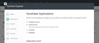 Applying For Internal Position Internal Positions