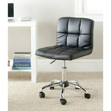 safavieh brunner black faux leather office chair