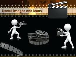 Movie Powerpoint Template Movie Themed Powerpoint Template